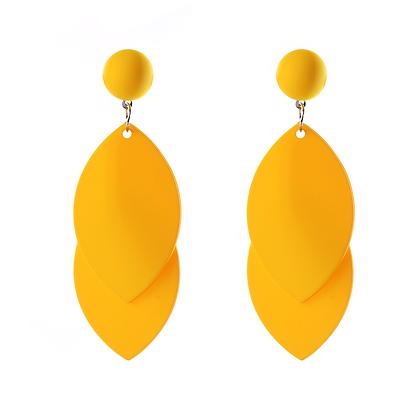Mango Yellow Earrings