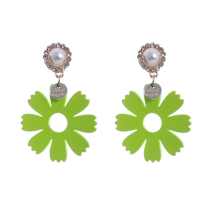 Lily Lime Earrings