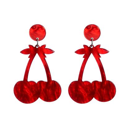 Cherry Punch Earrings