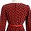 Thumbnail: Cherry Chevron Vintage Dress