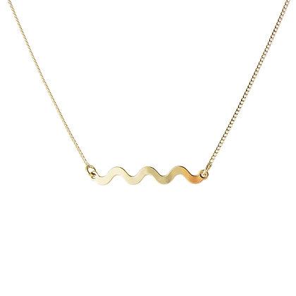 Aliquo Memphis Squiggle Necklace