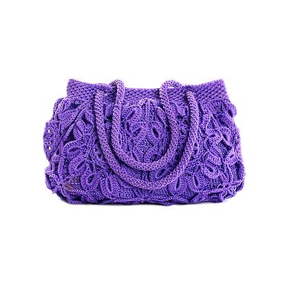 Purple Drama Vintage Bag