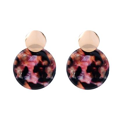 Rustic Marble Earrings