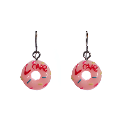 Donut Love Earrings