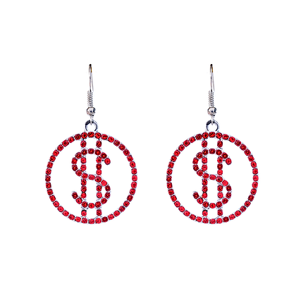 Swanky Dollar $ign Earrings
