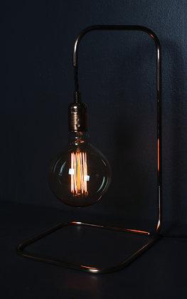 Kopper Kreation Large Square Base Copper Lamp