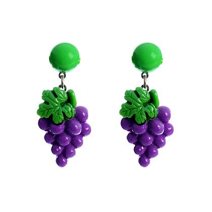 Grapeful Earrings