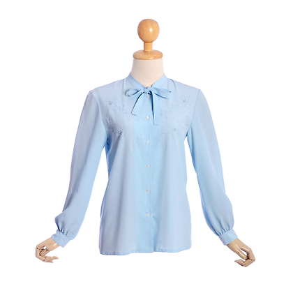 Pretty in Powder Blue Vintage Shirt