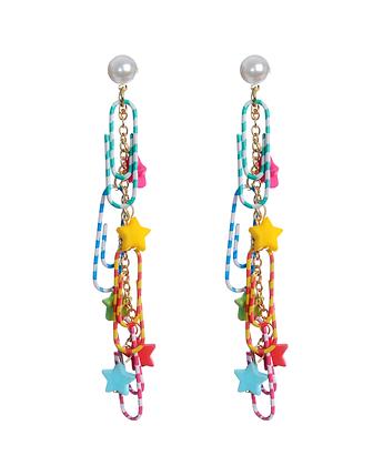 Paperclip Surprise Earrings