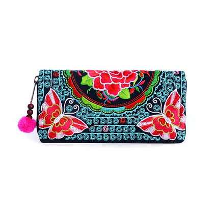 Red Lacewing Purse