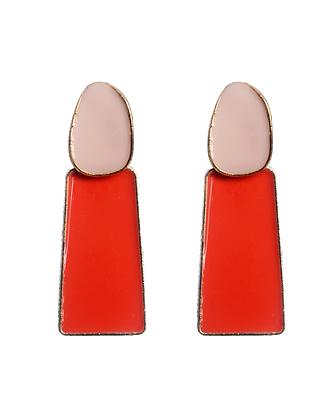 Get Ahead in Pink & Red Earrings