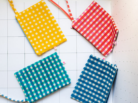 We Are Plop! Reversible Check Bag