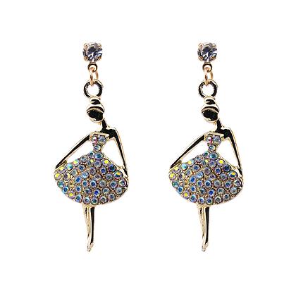 Blissful Ballerina Earrings