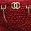 Thumbnail: Crimson Beaded Vintage Bag