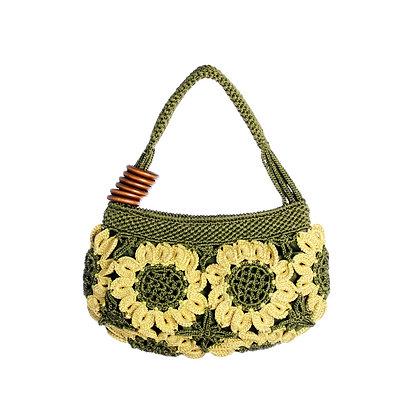 Soulful Sunflower Vintage Bag