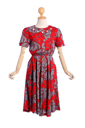 Hawaiian Punch Vintage Dress