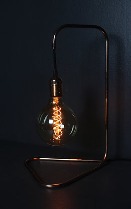 Kopper Kreation Large Triangle Base Copper Lamp