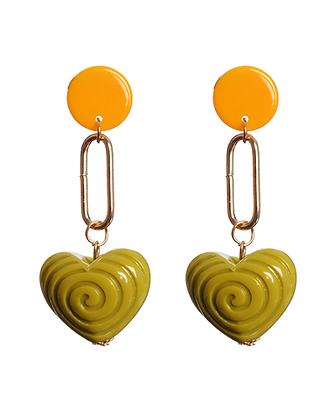 70's Swirl Earrings