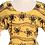 Thumbnail: Sunflower Wave Vintage Dress