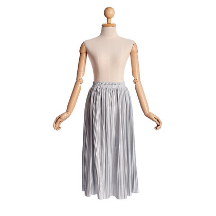 Metallic Muse Skirt