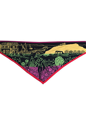 Electronic Sheep 'Holiday' Triangle Scarf