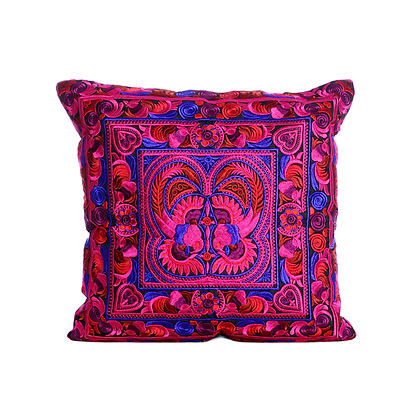 Pink Lotus Cushion Cover