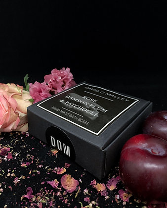 David O Malley Rose, Damson Plum & Patchouli Bath Bomb