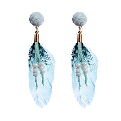 Fine Feather Earrings