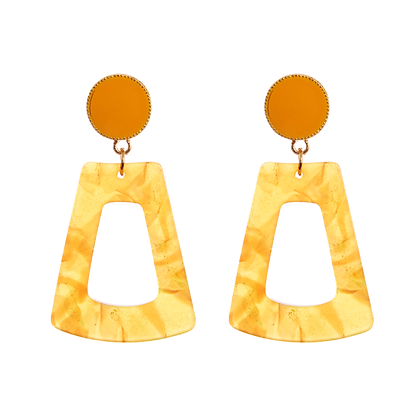 Earrings - Mellow Yellow