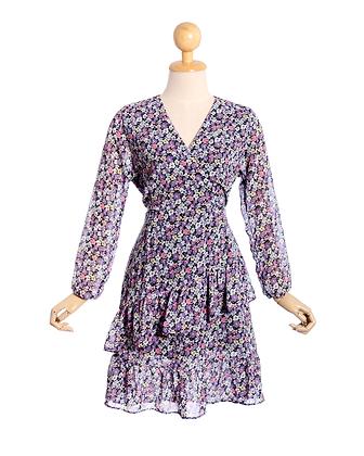 Twirl in Purple Dress