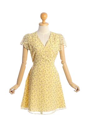 Vanilla Milkshake Mini Dress