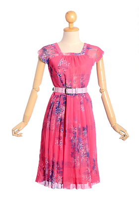 I'm Your Summer Girl Vintage Dress