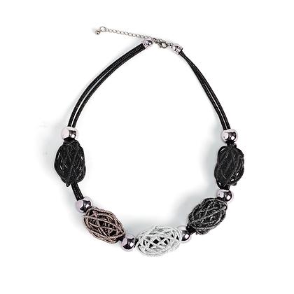 Metallic Nest Necklace