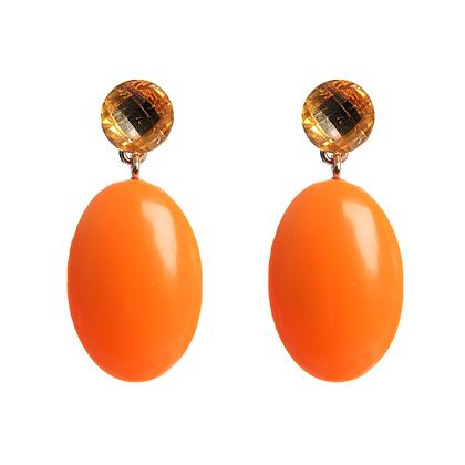 'Orange You Glad' Earrings