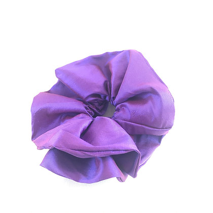 You're Only Gorgeous Purple Silk Scrunchie