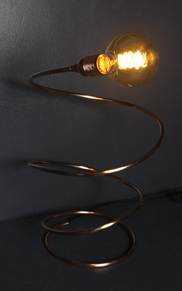 Kopper Kreation Spiral Copper Lamp