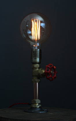Kopper Kreation Valve Lamp