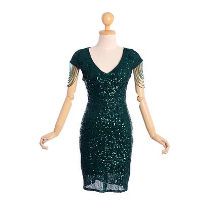 Emerald Cocktail Dress