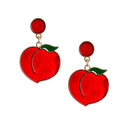 Peachy Queen Earrings