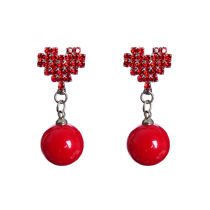 Cyber Love Earrings