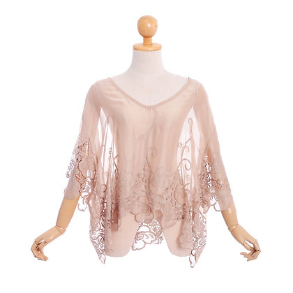 Silky Sepia Vintage Blouse