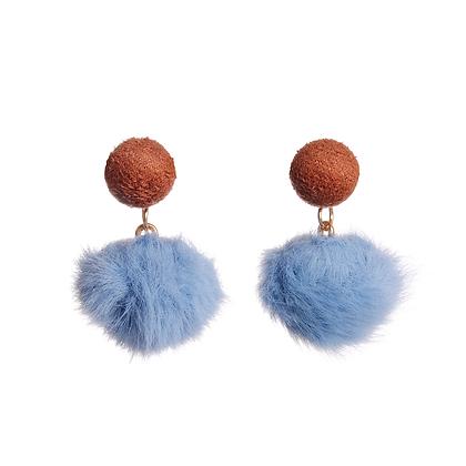 Double Pom Earrings