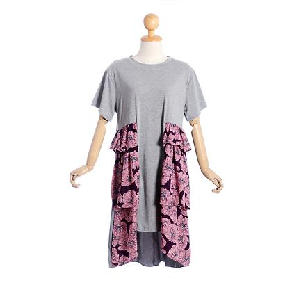 Purple Poppy Dress