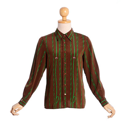 Homage to Versace Vintage Blouse