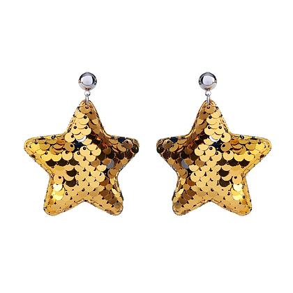 Sequin Star Earrings