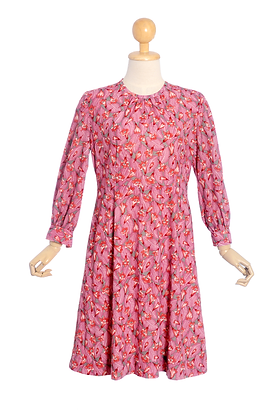 Fuchsia Boliviana Vintage Dress