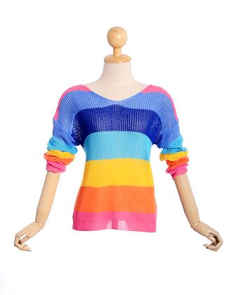 Rainbow Road Knit