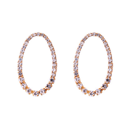 Opulent Oval Earrings