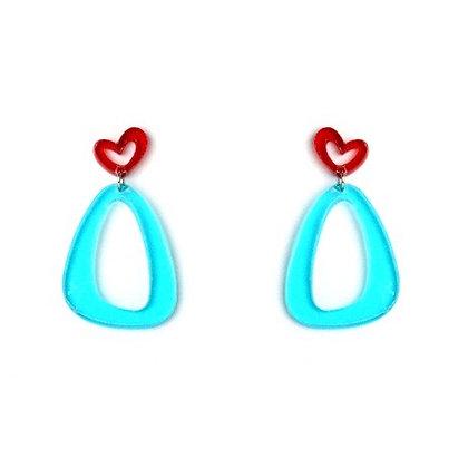 Playful Perspex Earrings