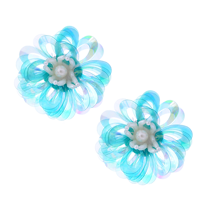 Icy Iris Earrings